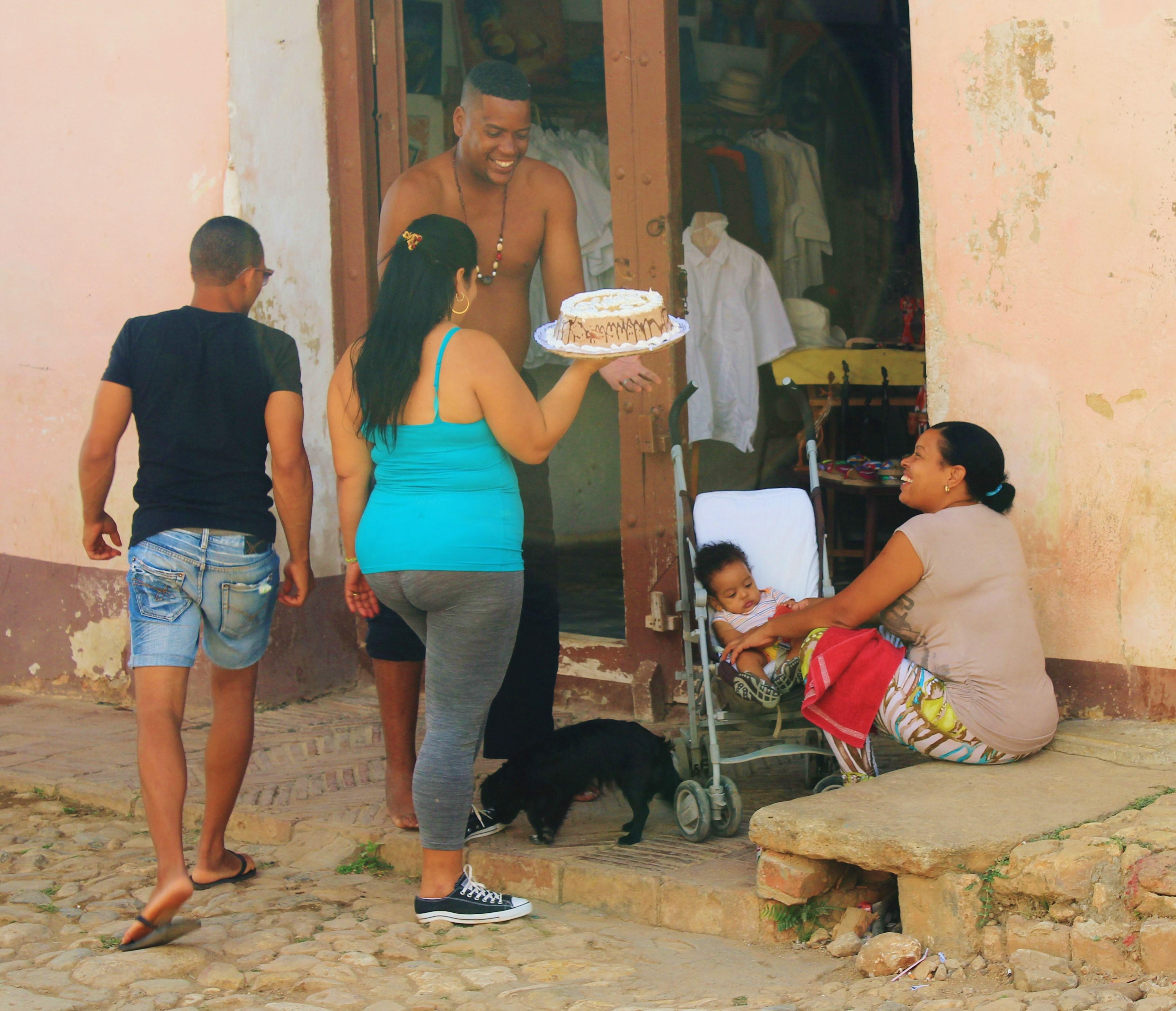 Cake-Delivery-Trinidad A Cuban Road Trip, Part 2 - Trinidad Cuba Trinidad