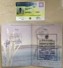 card-and-stamp The Panama Visa Process - Our Experience Panama The Expat Life Visas