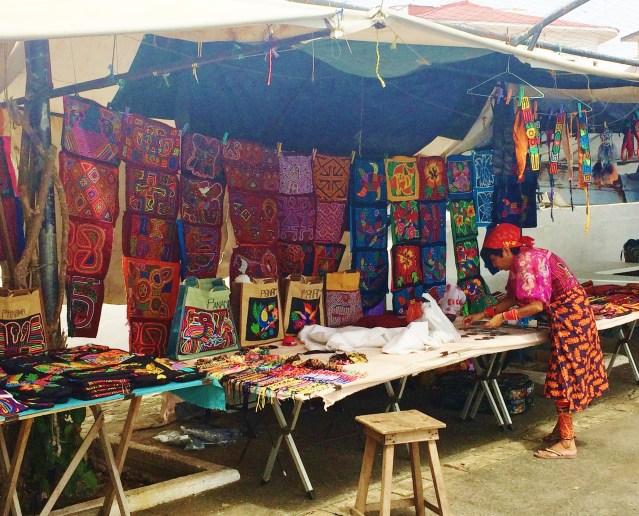 Casco-Vieja-Kuna-Wares-300x242 Discovering Casco Viejo, Panama Panama Panama City