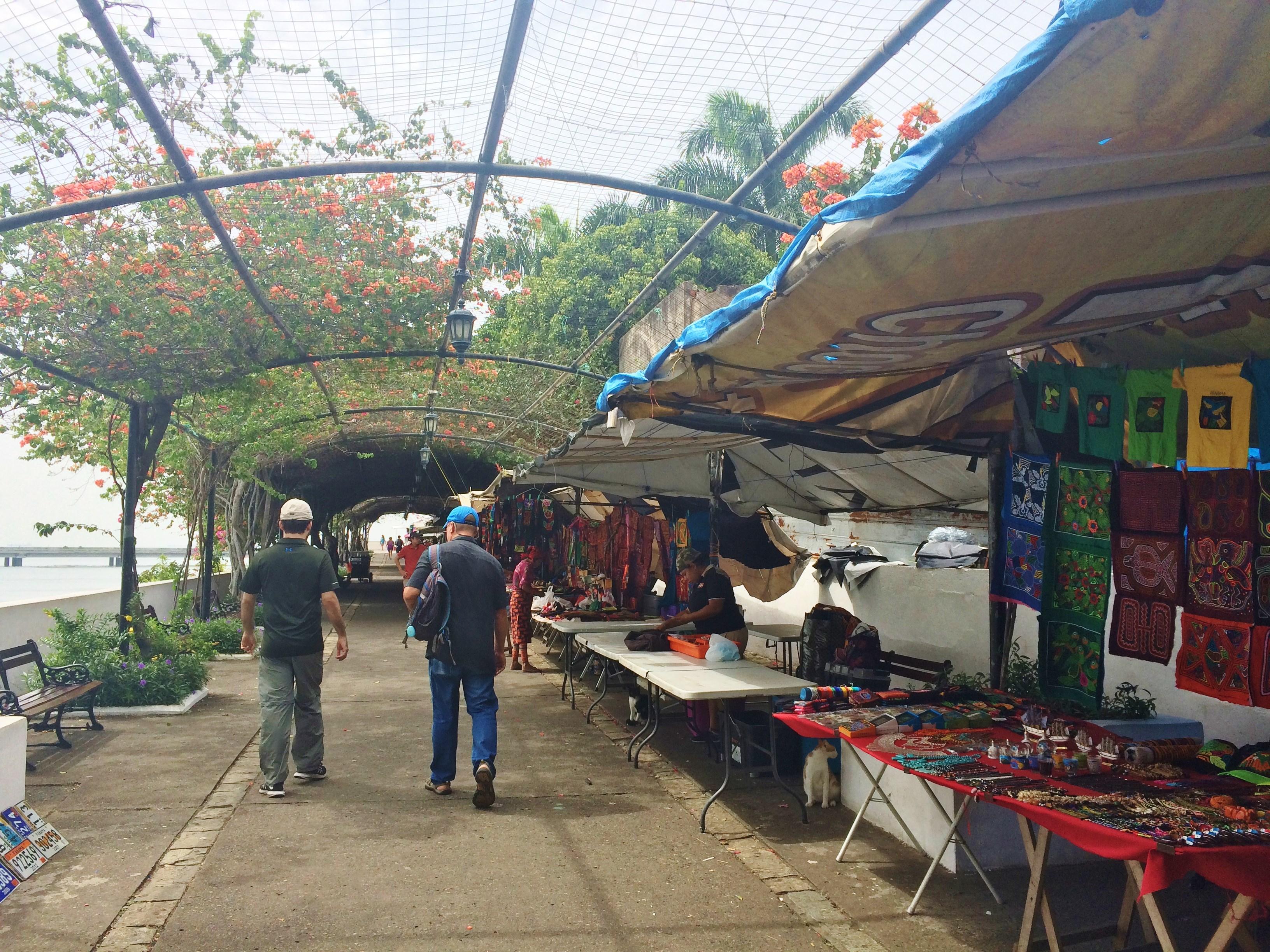 Casco-Viejo-walkway Discovering Casco Viejo, Panama Panama Panama City