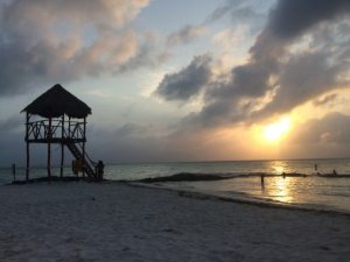Isla-Mujeres-Beach-Sunset-300x225 Is going back a good idea? Sometimes! Mexico