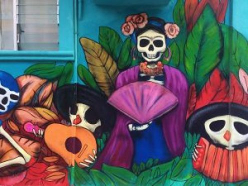 Isla-Mujeres-Mural-2-300x225 Is going back a good idea? Sometimes! Mexico