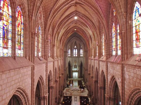 Basilica-Quito-Mass FOUR DAYS IN QUITO, ECUADOR: Part II Ecuador Quito