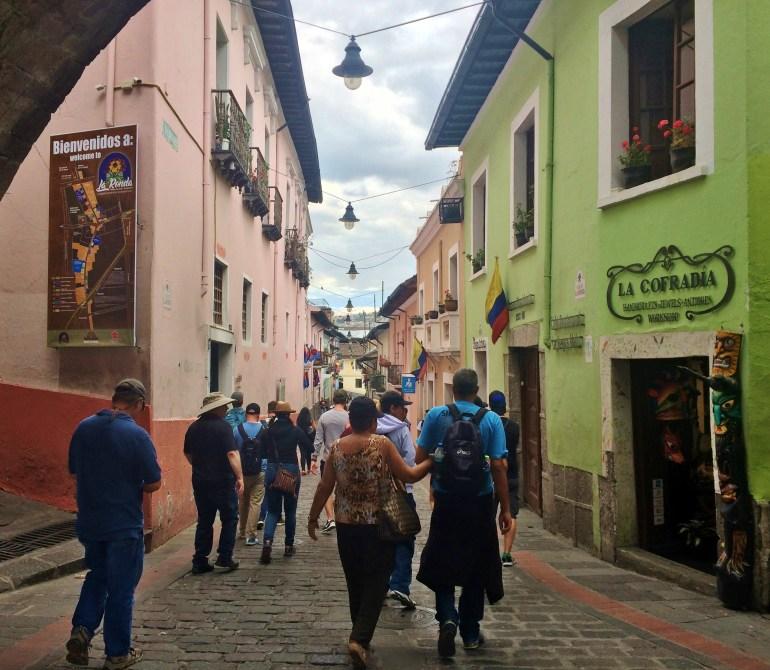 Calle-Rambla-Quito FOUR DAYS IN QUITO, ECUADOR: Part I Ecuador Quito