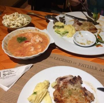 Ecuador-Dinner FOUR DAYS IN QUITO, ECUADOR: Part I Ecuador Quito