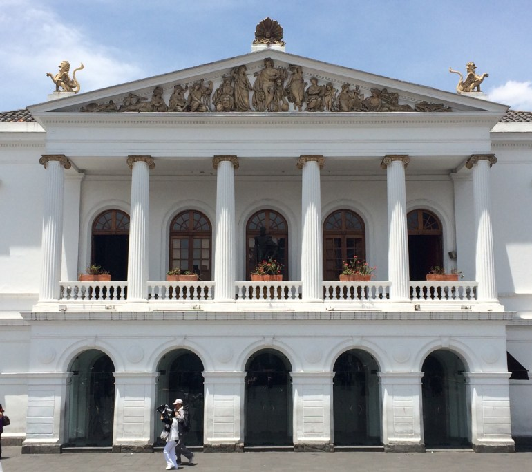 National-Theater-Quito FOUR DAYS IN QUITO, ECUADOR: Part I Ecuador Quito