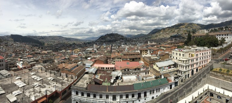 Quito-Panorama FOUR DAYS IN QUITO, ECUADOR: Part II Ecuador Quito