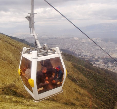 Teleferico-cable-car-Quito FOUR DAYS IN QUITO, ECUADOR: Part II Ecuador Quito