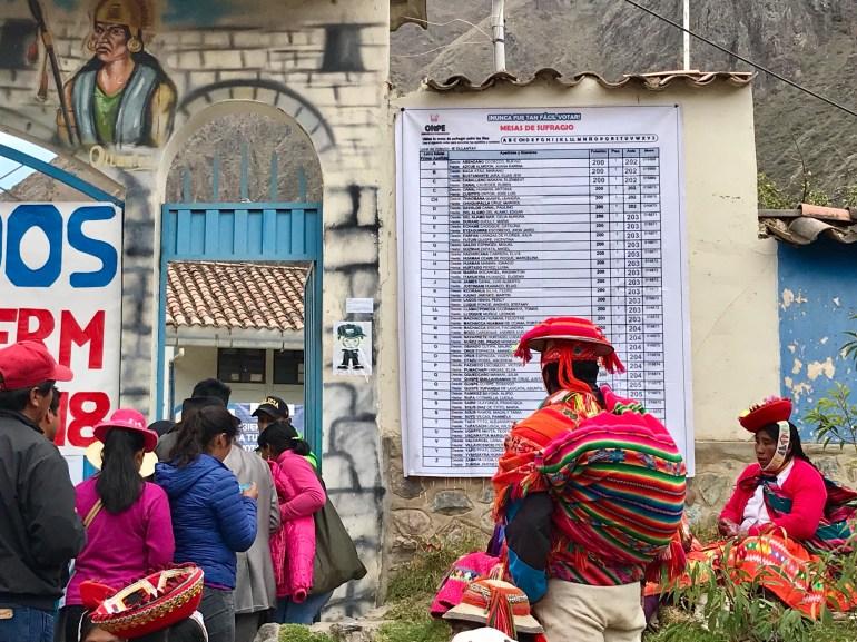 814D7C56-1577-486B-9D34-B07F9FC8CEFF Election Day in Peru Peru