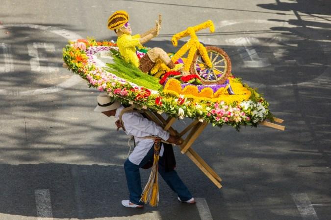 sillatera Medellín's Feria de las Flores Colombia Medellin South America