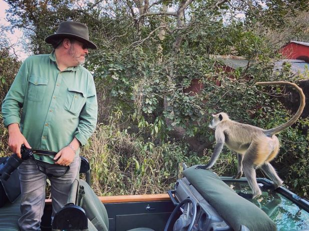 Kevin-and-Langur Guest Post: Tiger Safari in Ranthambore National Park India