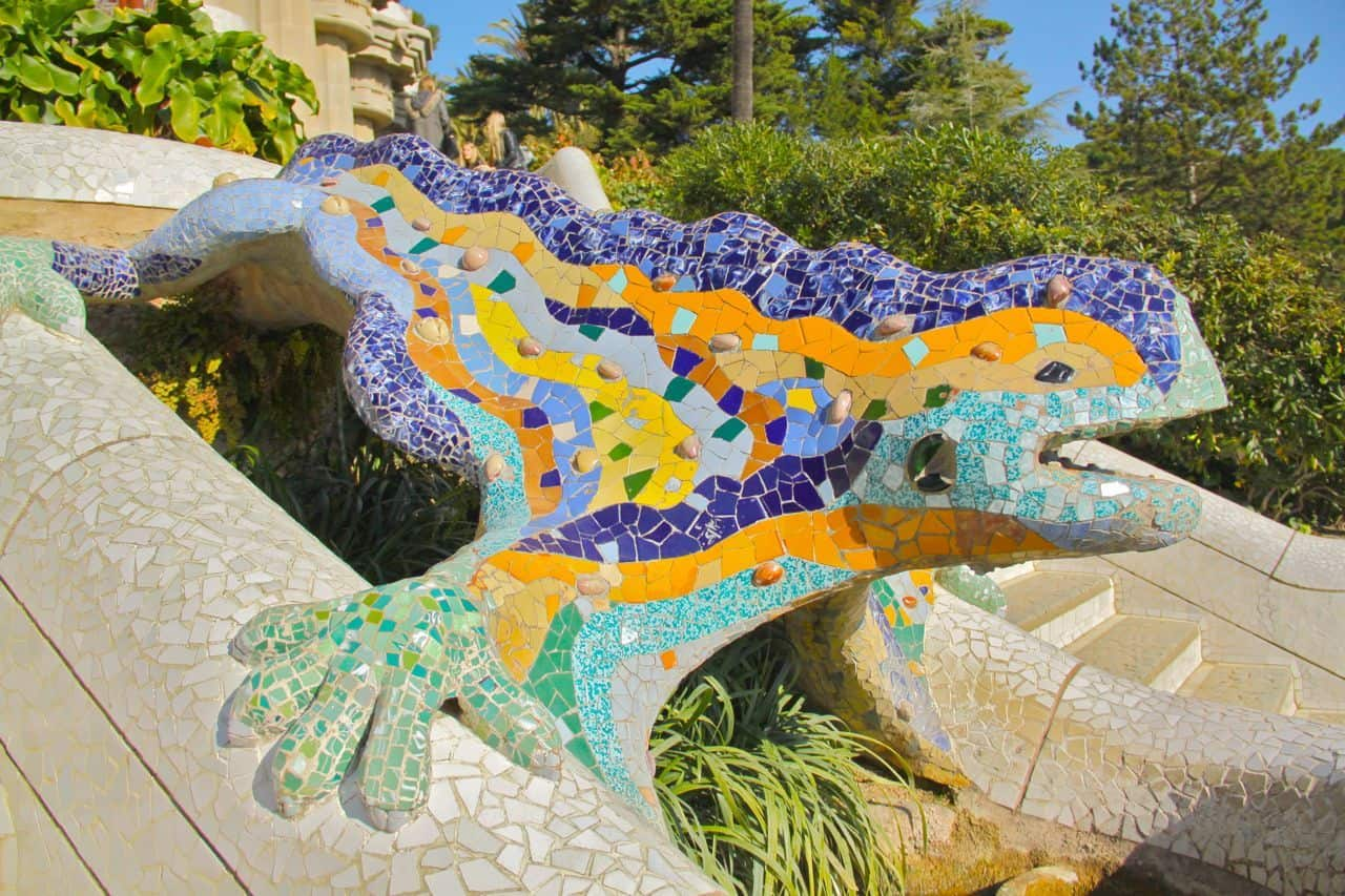 Park Guell, Spain's Most Colorful Park