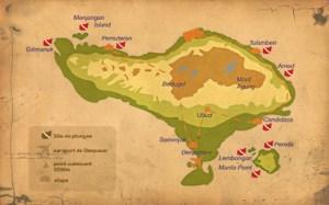 Carte Bali