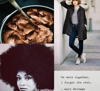 Inspired: food || style || hair || words