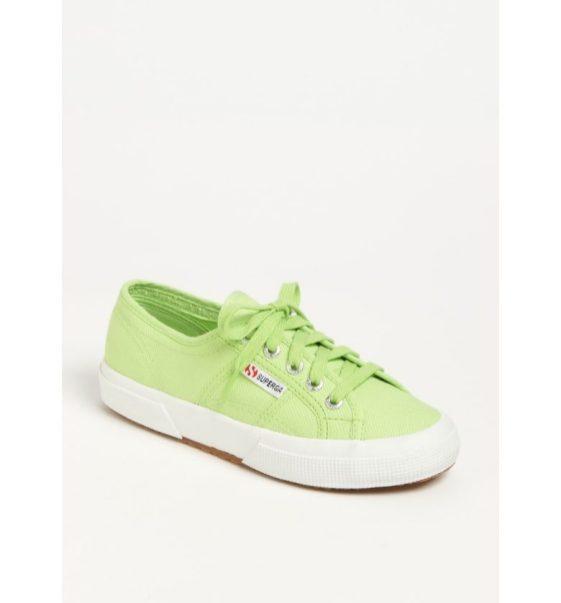 Green Superga's