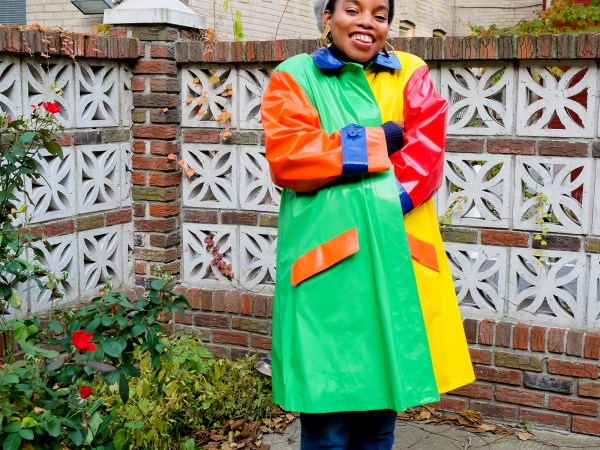 Vintage Rainbow Raincoats And Other Things That Make Me Happy