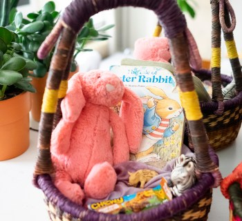 Making Old Easter Baskets New