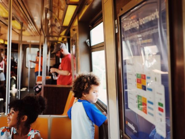 Motherhood Right Now: Simple Train Adventures