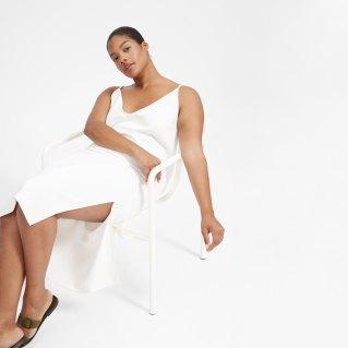 $88 White Summer Slip Dress
