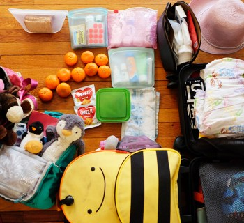 What To Pack When Traveling With Two Kids (solo)