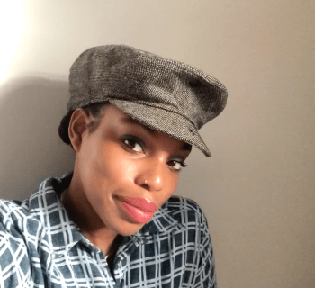 Natural Hair Diary: A Quick Newsboy Cap Styling