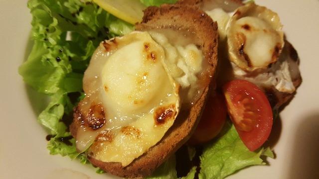 L'ensalada cabra - mèl / Salade chèvre - miel