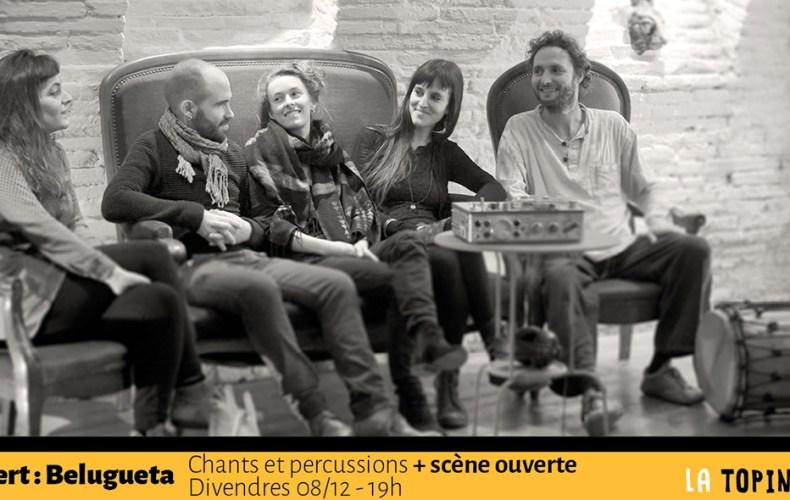 Concert Belugueta - Vendredi 8 décembre