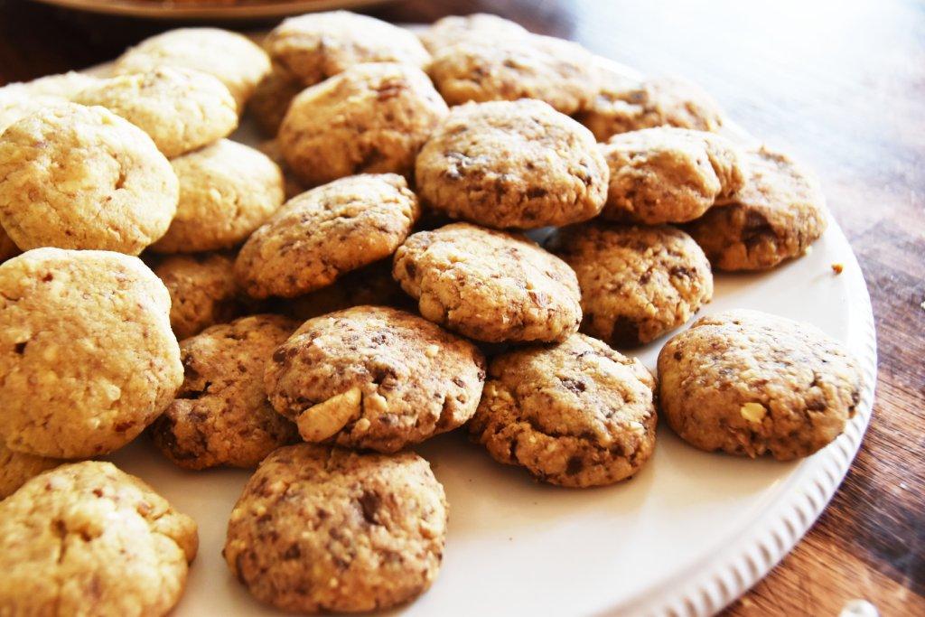 cookies chocolat noisettes les petites gourmandises
