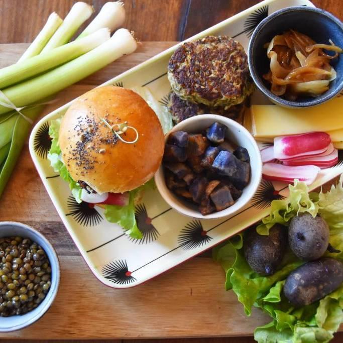 bocal burger végétarien bocal dayana