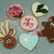 Weihnachtliche Kekse