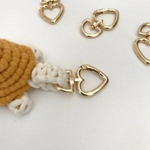 Mousquetons pour porte-clés