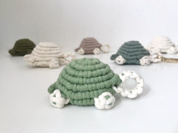 tutoriel tortue en macramé à faire soi même DIY