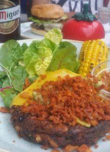 vegan burger gbk