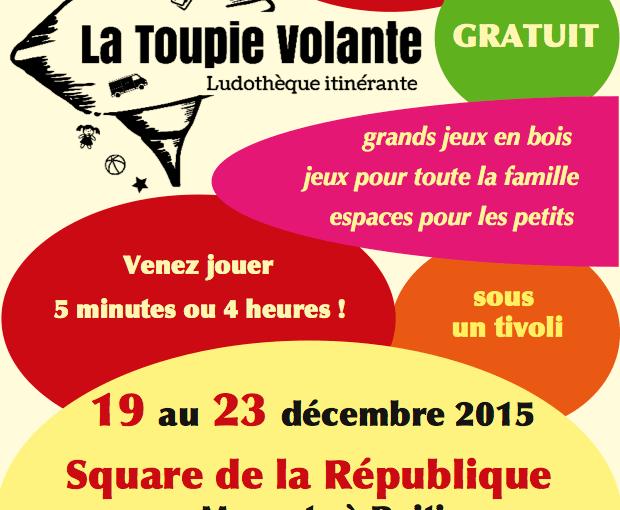 La Toupie Volante Square Magenta 2015
