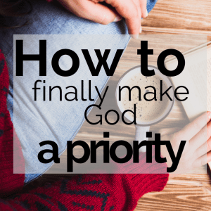 The One Thing You Must Know to Seek the Kingdom of God First
