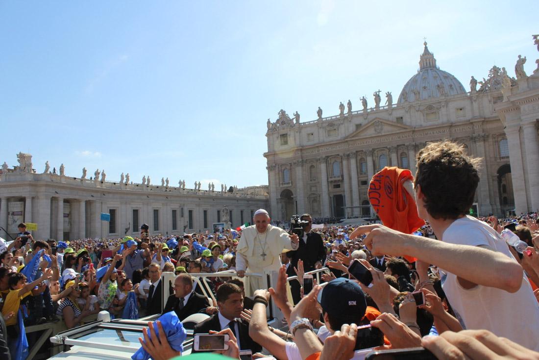 la-traccia-dal-Papa