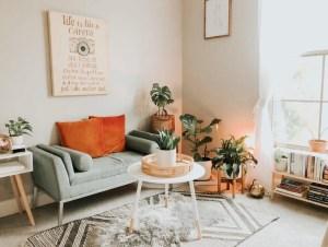 woonkamer opnieuw inrichten
