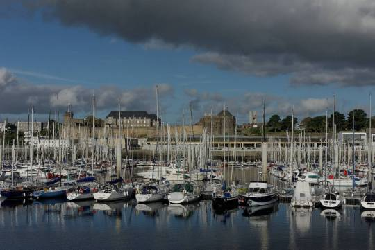 Port de plaisance du chateau Brest