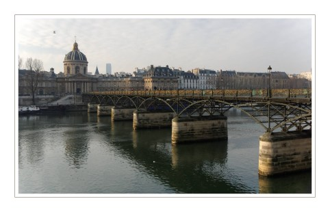 le pont des Arts Paris