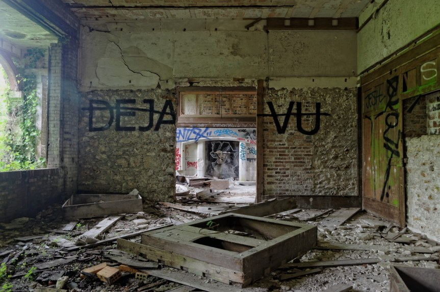 urbex, manoir des 3 colonnes, pièce du rez-de-chaussée