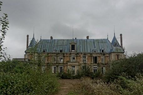 façade avant château Popkov