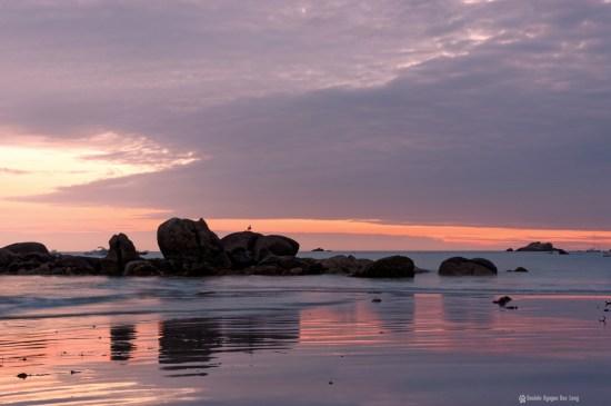 coucher de soleil Niez Vran Pose Longue Blog