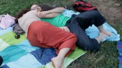 couple allongé