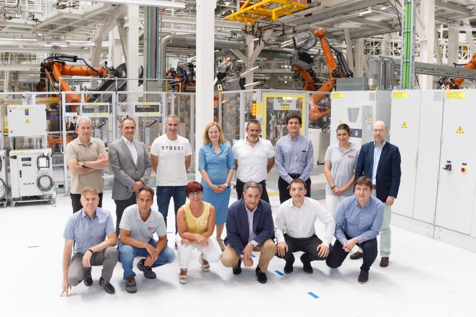 VW Navarra. Firmantes del Acuerdo para el Tercer Modelo