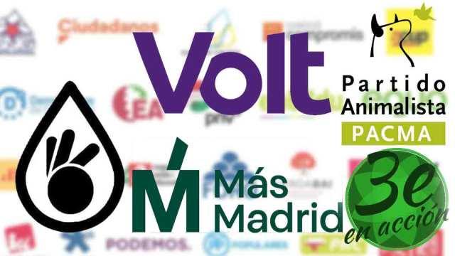 partidos politicos elecciones cuatro de mayo