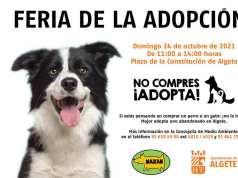adopta tu mascota en la Feria de Adopción de Algete