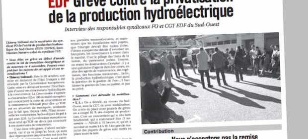 edf hydraulique TT