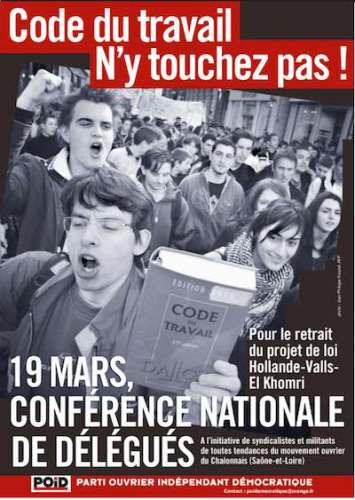 Conference 19 mars