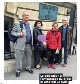 delegation bresil