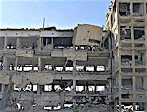 Hôpital bombardé Syrie